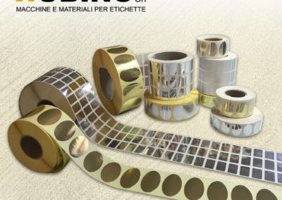 Etichette Metallizzate